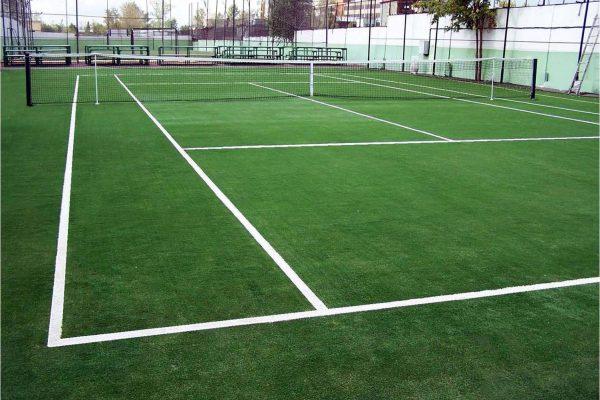 Courts de tennis en gazon